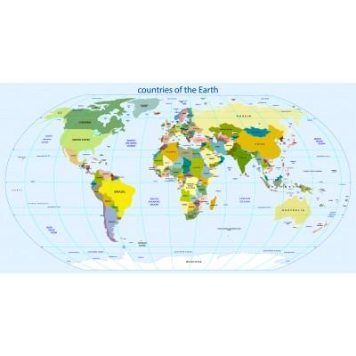 Dünya Ülkeleri Ofis Dünya Haritası Duvar Kağıdı